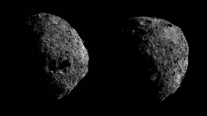 Planetoida Bennu odkrywa kolejne tajemnice /NASA