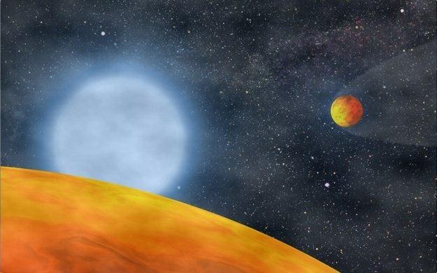 Planety Kepler-20e i Kepler-20f rozmiarami bardzo przypominają Ziemię /AFP