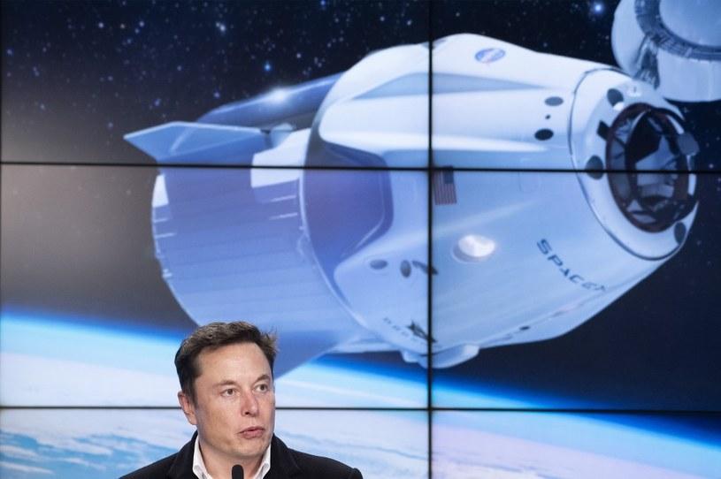 Planowana dla NASA misja to wielki sukces SpaceX i Elona Muska /AFP
