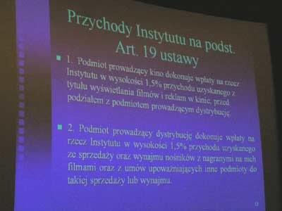 Plansza przedstawiająca przychody Instytutu /INTERIA.PL