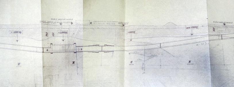 Plany tunelu /Fot. Odkrywca /Odkrywca