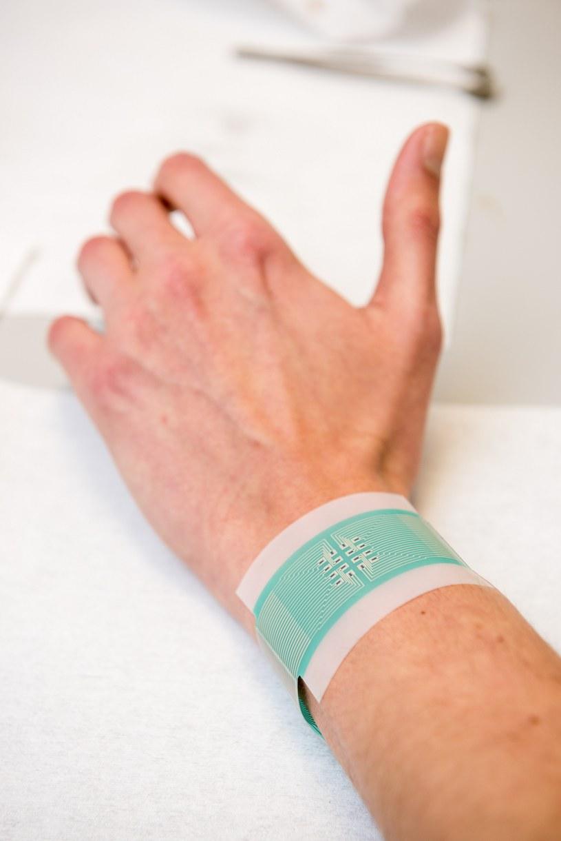 Plaster można będzie założyć na nadgarstek /materiały prasowe