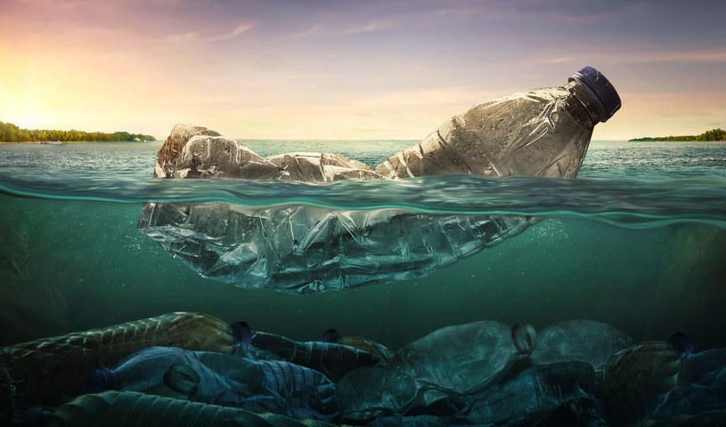 Plastik zalega w oceanach /123RF/PICSEL