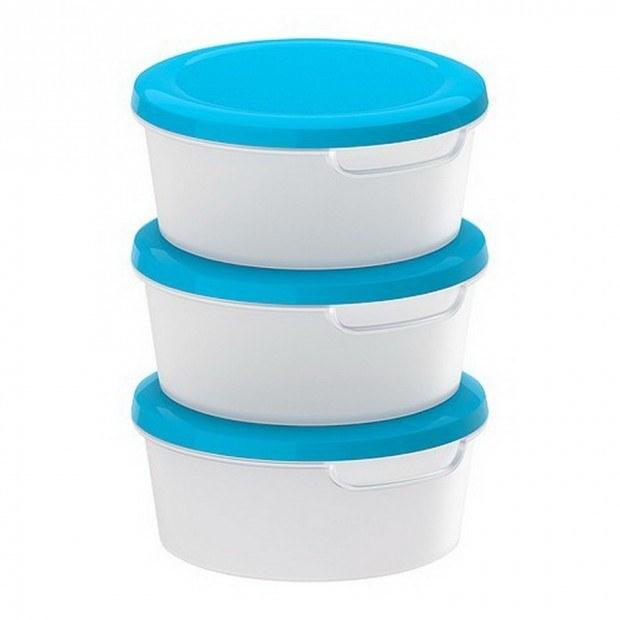 Plastikowe pojemniki na jedzenie /© Photogenica