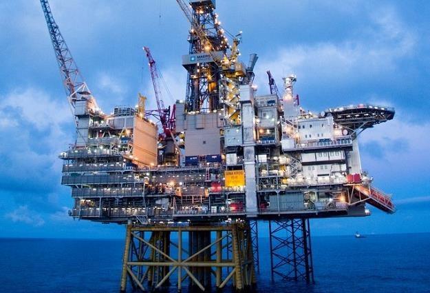 Platforma na złożu Gina Krog na Morzu Północnym /fot. Statoil /