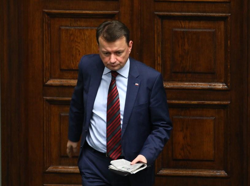 Platforma Obywatelska domaga się dymisji ministra Mariusza Błaszczaka /STANISLAW KOWALCZUK /East News