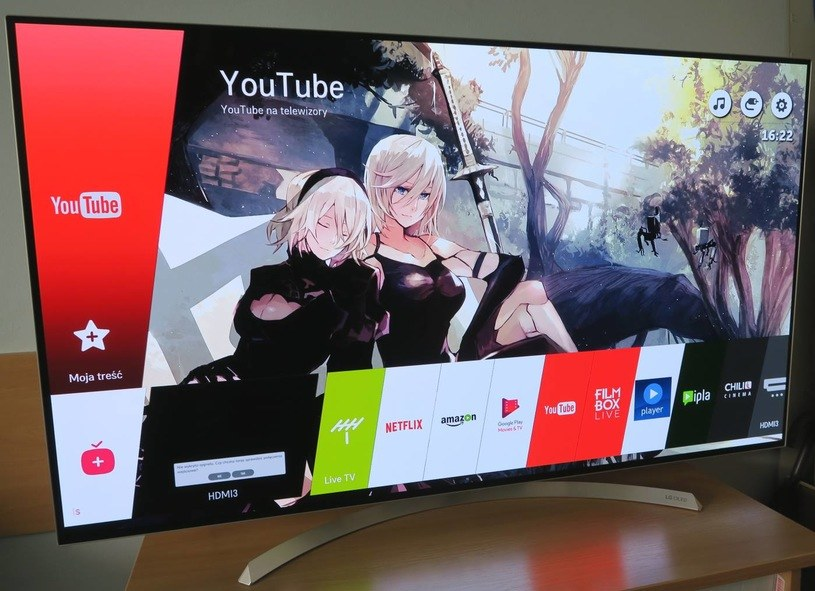 Platforma Smart TV (WebOS) w telewizorze LG /INTERIA.PL