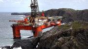 Platforma wiertnicza uderzyła w skały. Do Atlantyku wyciekła ropa
