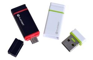 PLATINET prezentuje pendrive NANO z adapterem microUSB do urządzeń mobilnych