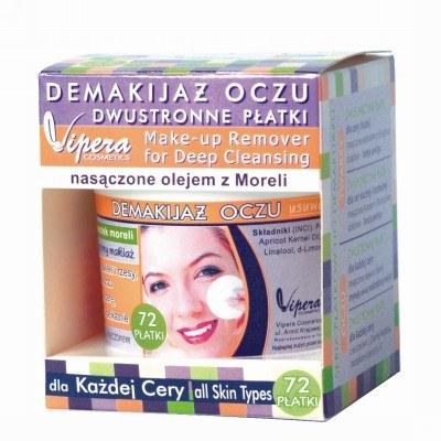 Płatki do demakijażu oczu nasączone olejem z moreli /materiały prasowe