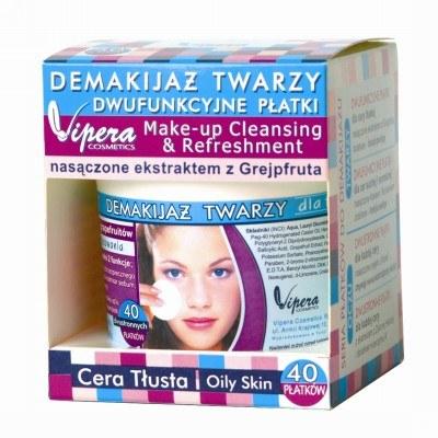 Płatki do demakijażu twarzy nasączone ekstraktem z grejpfruta /materiały prasowe