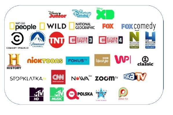 PLAY NOW TV BOX to następujące kanały /materiały prasowe