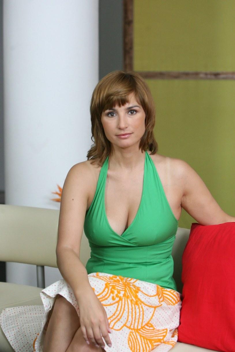 """""""Playboy""""? """"Cieszę się, że miałam takie doświadczenie"""" - wyznaje Joanna Brodzik /Piotr Fotek /Reporter"""
