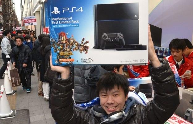 PlayStation 4 /AFP