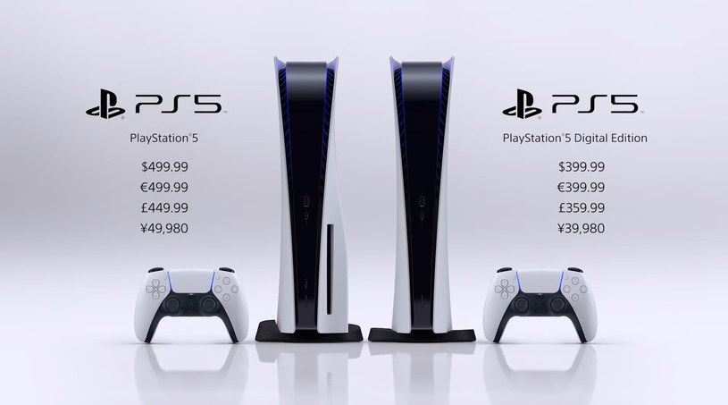 PlayStation 5 w dwóch wersjach i opcjach cenowych /materiały prasowe