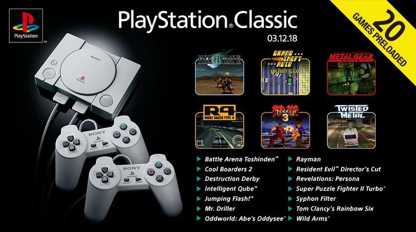 PlayStation Classic /materiały prasowe