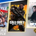 PlayStation Plus, lipiec 2021: Call of Duty: Black Ops 4, WWE 2K Battlegrounds i A Plague Tale: Innocence