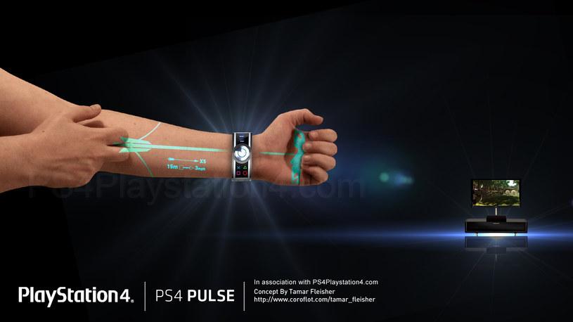 PlayStation Pulsce Controller - zdjęcie przedstawiające zastosowanie nowego kontrolera. Grafika pochodzi z serwisu ps4playstation4.com /materiały prasowe