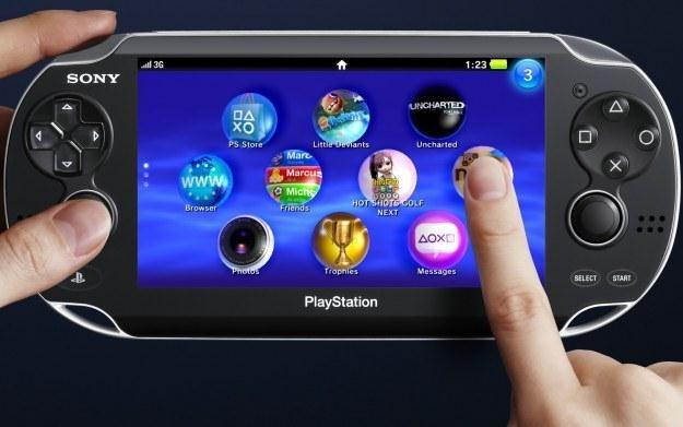 PlayStation Vita - zdjęcie nowej konsoli Sony /Informacja prasowa