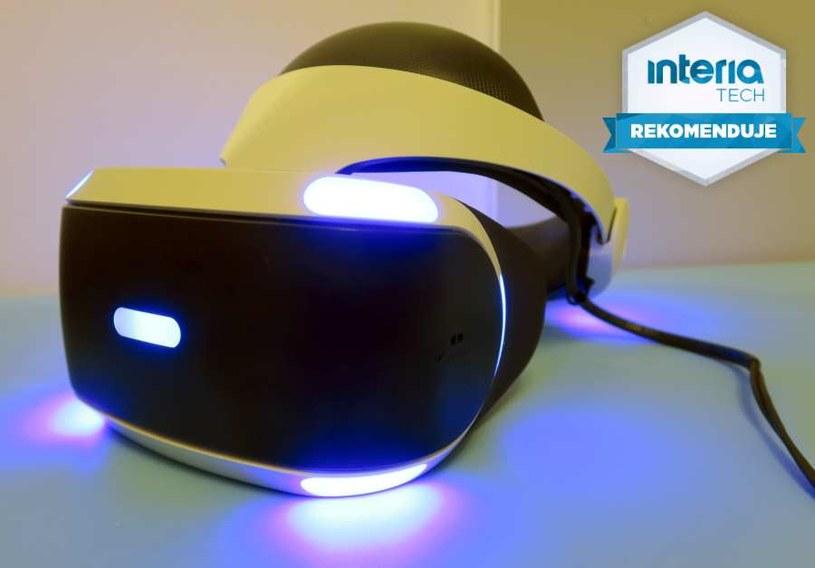PlayStation VR (PS VR) otrzymuje rekomendację serwisu Nowe Technologie Interia /INTERIA.PL