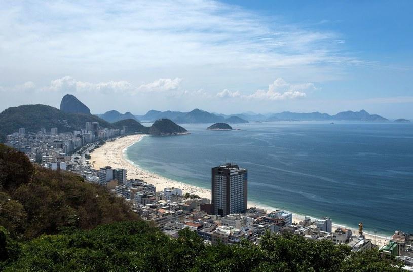 Plaża Copacabana w Rio de Janeiro /AFP