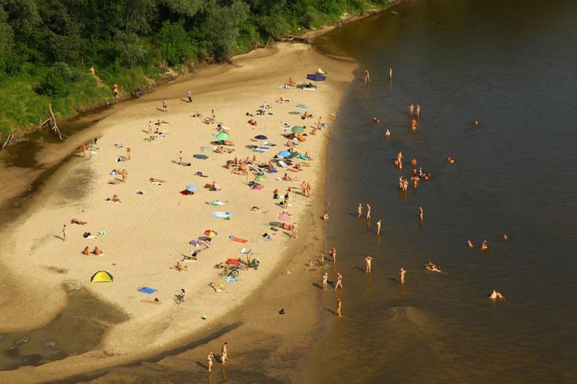 Plaża dla nudystów w Warszawie /Krystian Trela /Reporter