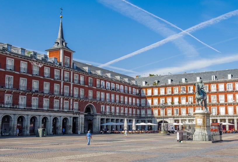 """Plaza Mayor - to właśnie tutaj tańczyli bohaterowie filmu """"Kwiat mojego sekretu"""" /Adobe Stock"""