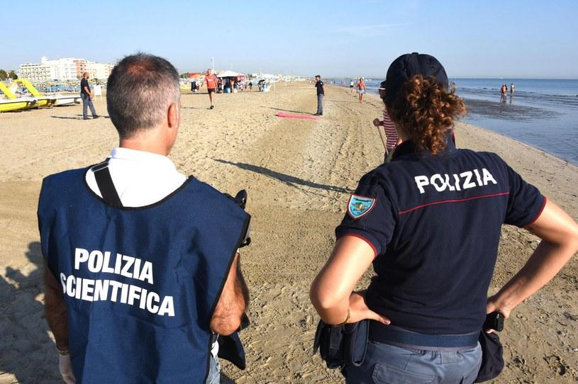 Plaża, na której doszło do brutalnego ataku /MANUEL MIGLIORINI /PAP/EPA