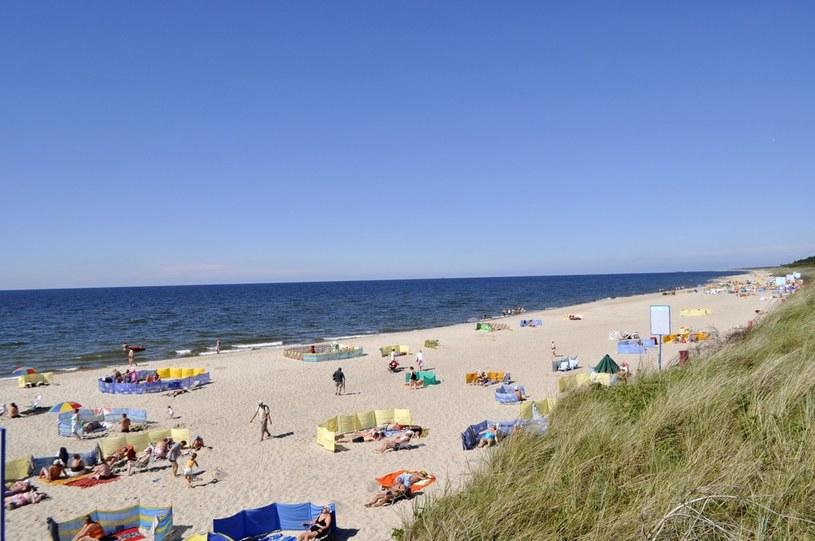 Plaża nad Bałtykiem, Dąbki /Anna Jasińska /East News