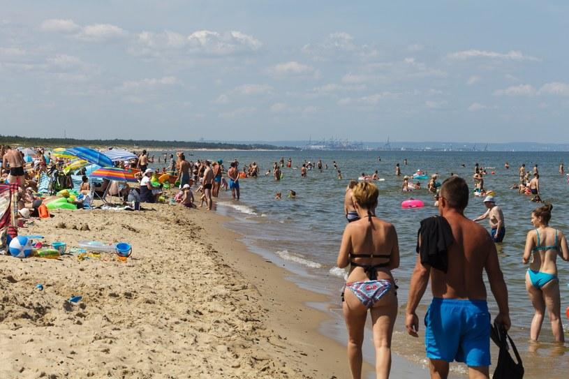 Plaża nad Bałtykiem /Łukasz Szczepański  /Reporter