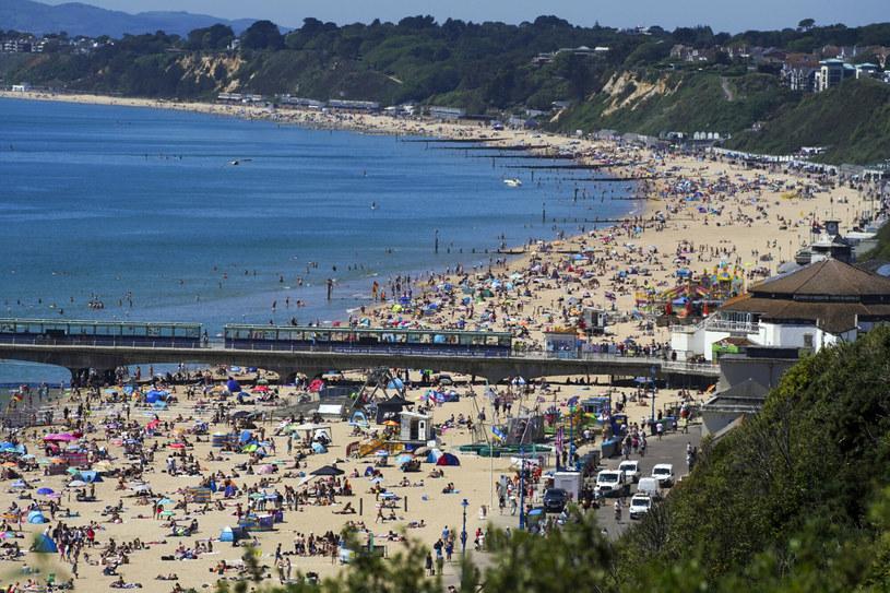 Plaża w Bournemouth, zdj. ilustracyjne /Steve Parsons    /East News