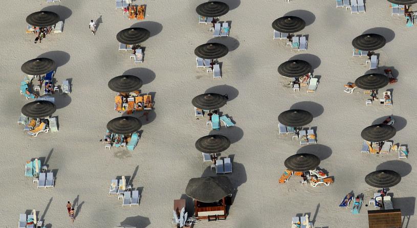 Plaża w Dubaju /AFP
