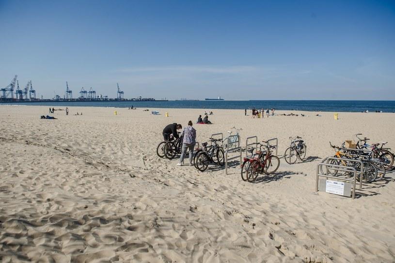 Plaża w Gdańsku /Mateusz Ochocki/KFP/ /Reporter