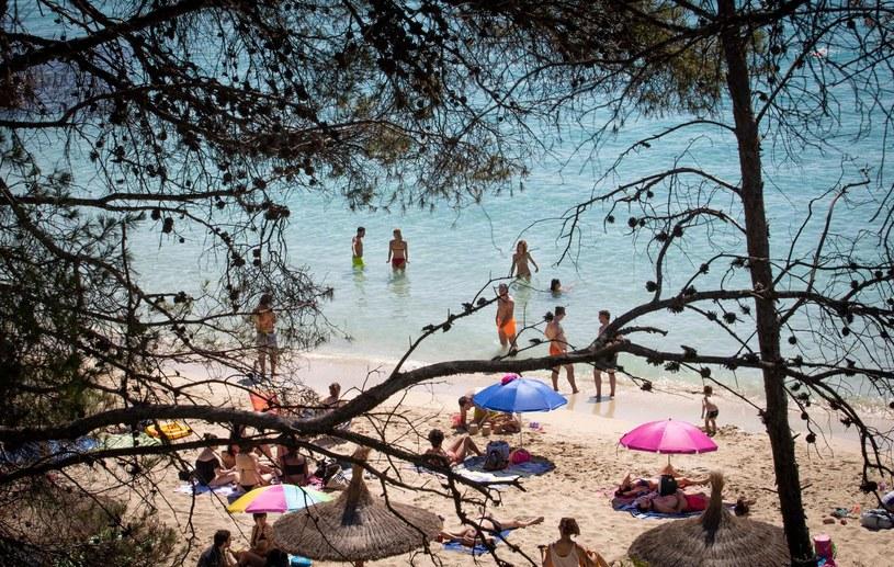 Plaża w Hiszpanii, zdjęcie ilustracyjne /AFP