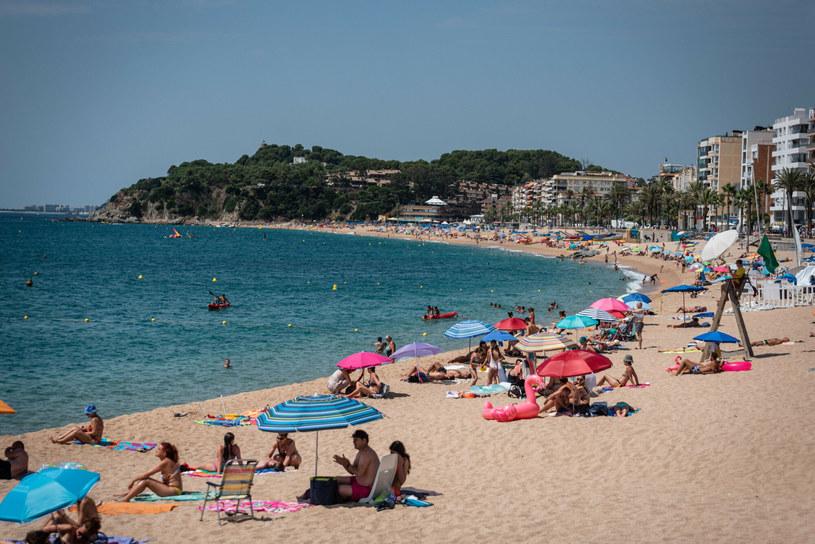 Plaża w Hiszpanii / zdjęcie ilustracyjne /Adria Salido Zarco/SIPA /East News