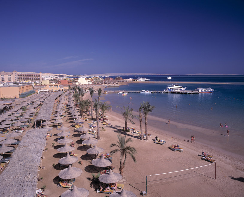 Plaża w Hurghadzie /Peter Lehner /East News