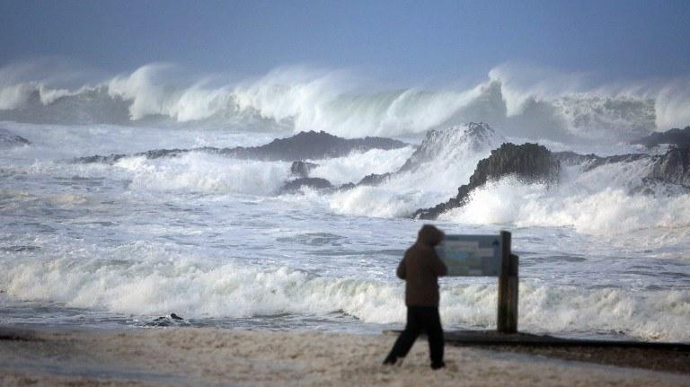 Plaża w Irlandii /AFP
