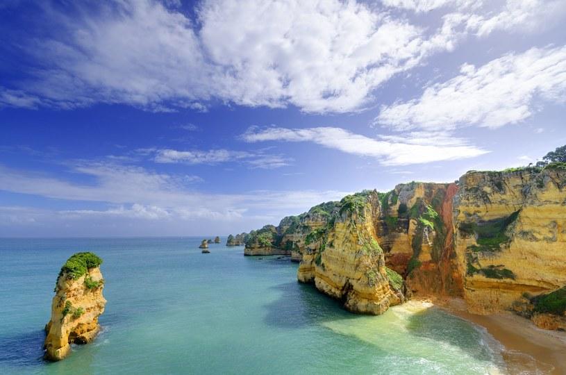 Plaża w Lagos, Algarve /123RF/PICSEL