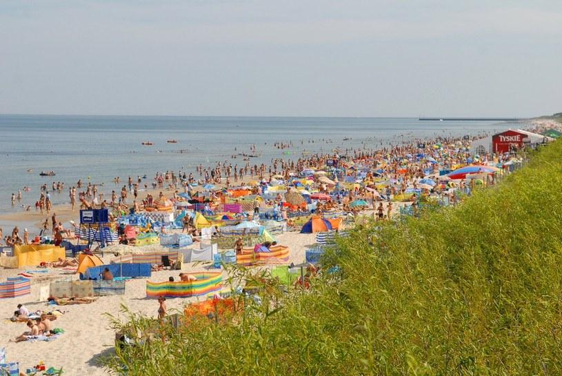 Plaża w Międzywodziu /Przemysław Fiszer /East News