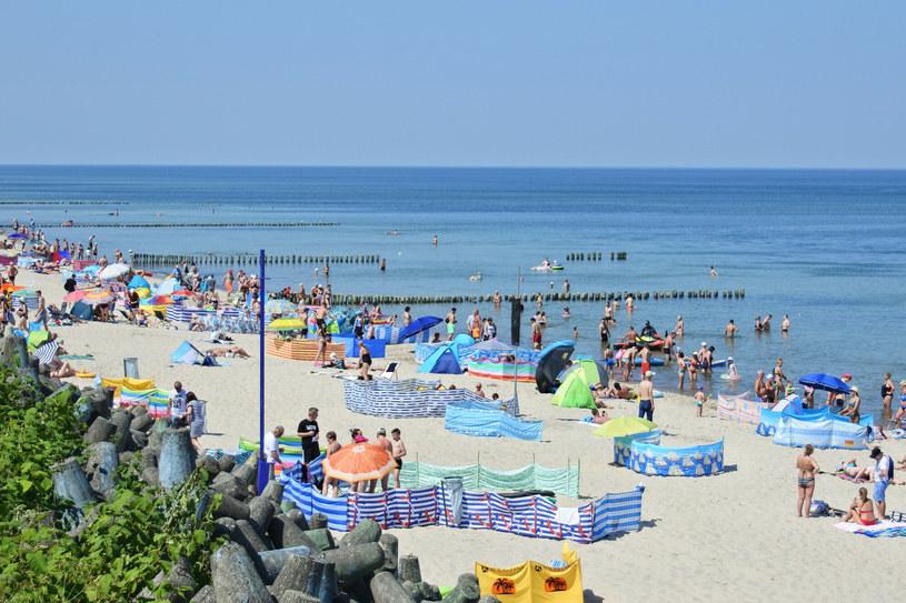 Plaża w Mielnie, zdj. ilustracyjne /Agnieszka Torba /East News