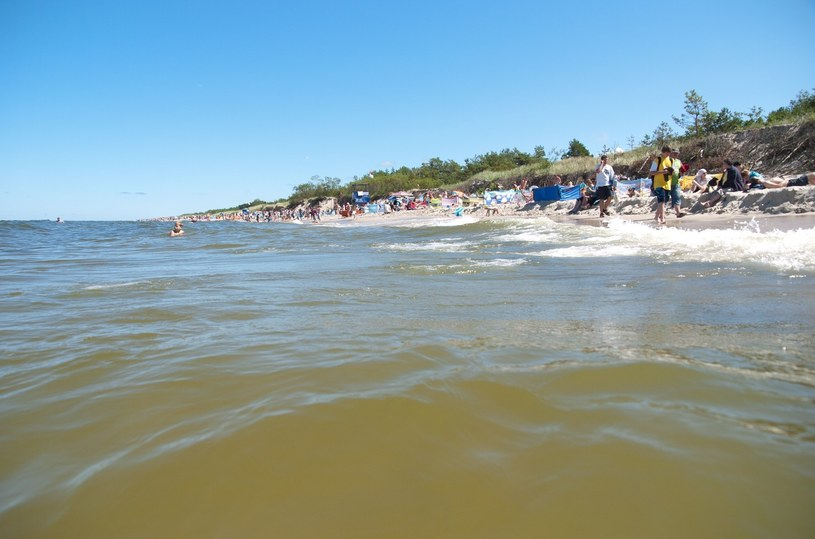Plaża w Rowach /HUBERT BIERNDGARSKI/ /Reporter