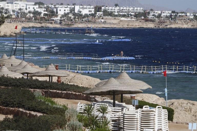 Plaża w Sharm el Sheikh /AFP