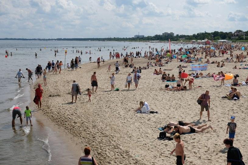Plaża w Sopocie, zdj. ilustracyjne /LUKASZ SOLSKI /East News