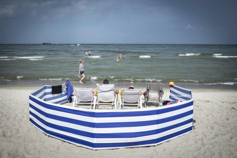 Plaża w Sopocie /Jacek Domiński /Reporter