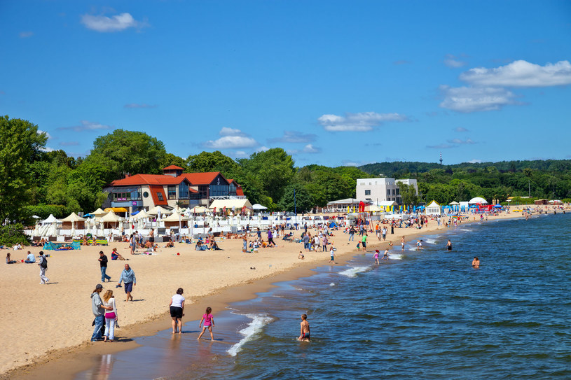 Plaża w Sopocie /123RF/PICSEL