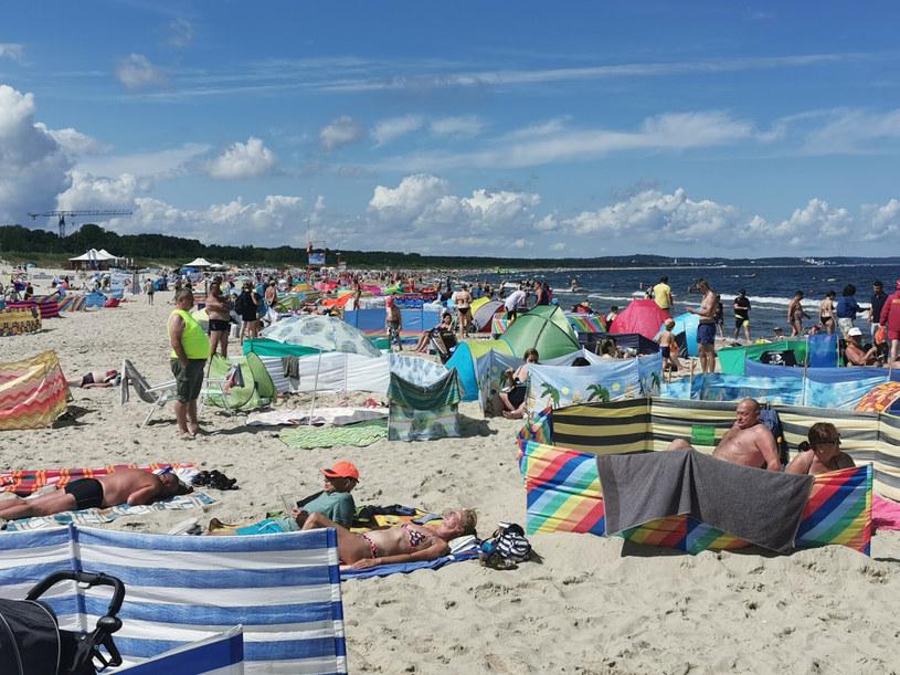 Plaża w Świnoujściu zachwyca turystów nie od dziś /LUKASZ SOLSKI /East News