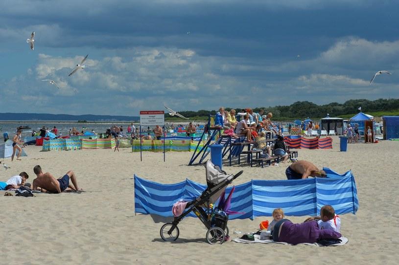 Plaża w Świnoujściu, zdj. ilustracyjne /GERARD/REPORTER /East News