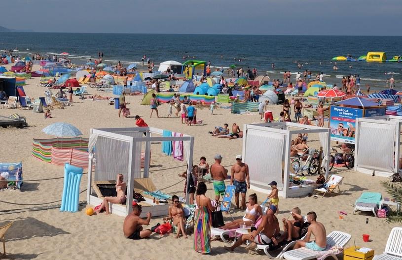 Plaża w Świnoujściu; Zdj. ilustracyjne /Lukasz Solski/ /East News