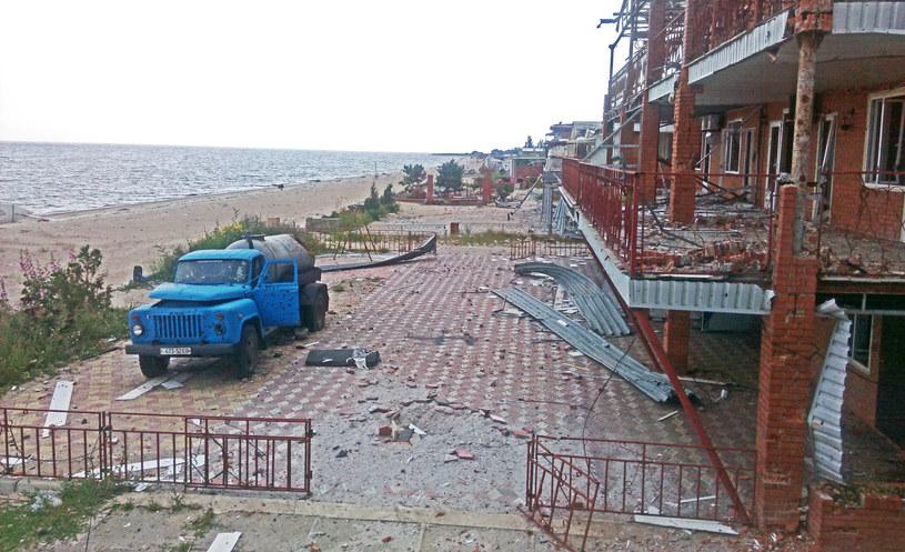 Plaża w Szyrokino... /Marcin Ogdowski /INTERIA.PL
