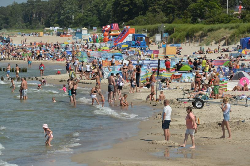 Plaża w Ustce, zdj. ilustracyjne /GERARD/ REPORTER /East News